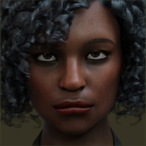 TDT-Afia for Genesis 8 Female image 3