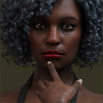 TDT-Afia for Genesis 8 Female image 6