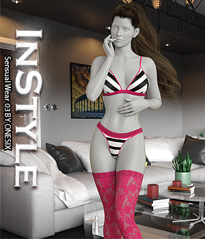 InStyle - Sensual Wear 03 3D Figure Assets -Valkyrie-