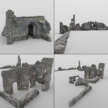 Castle in Ruins for DAZ Studio image 7