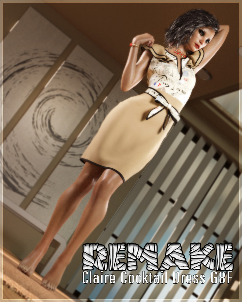 Remake Claire Cocktail Dress G8F by alexaana