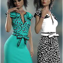 Remake Claire Cocktail Dress G8F image 5