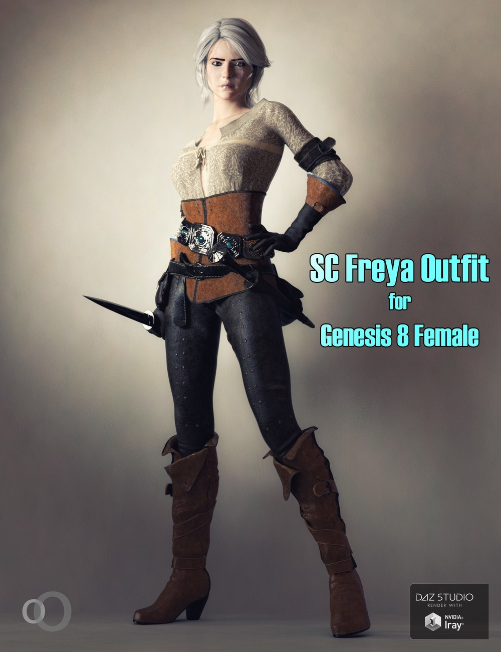SC Freya Outfit for Genesis 8 Female by secondcircle