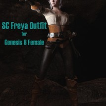 SC Freya Outfit for Genesis 8 Female image 3
