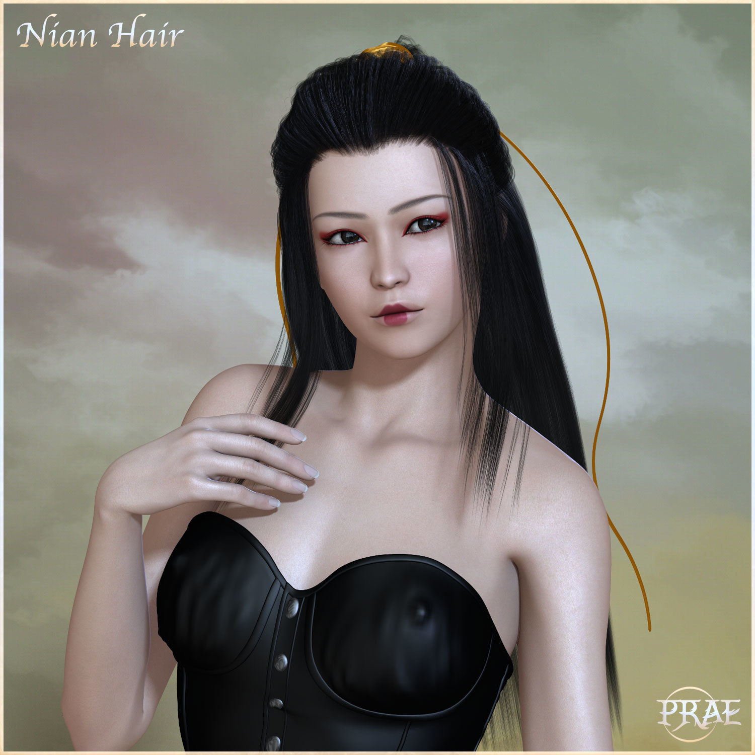 Prae-Nian Hair For Poser