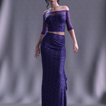 dForce Spring Nights Evening Outfit for G8F image 5