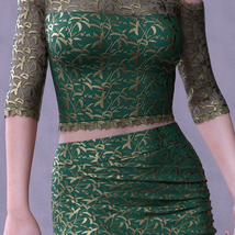 dForce Spring Nights Evening Outfit for G8F image 6