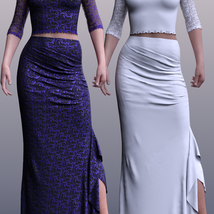 dForce Spring Nights Evening Outfit for G8F image 8