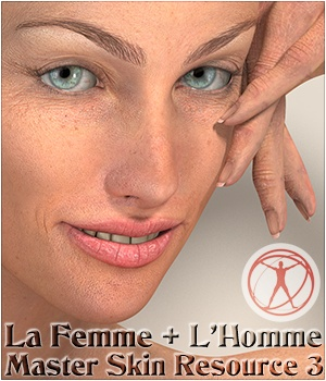 La Femme  and L'Homme - Master Skin Resource 3 2D Graphics La Femme - LHomme Poser Figures Merchant Resources 3Dream