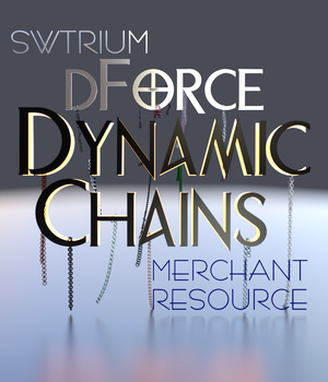 SWT dForce Dynamic Chains Merchant Resource 3D Figure Assets 3D Models SWTrium