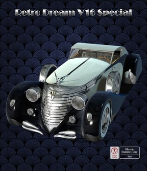 RETRO DREAM V16 SPECIAL 3D Models 3DClassics