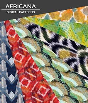 Digital Patterns - Africana 2D Graphics Merchant Resources Atenais