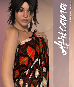 Poser - Africana 2D Graphics Merchant Resources Atenais