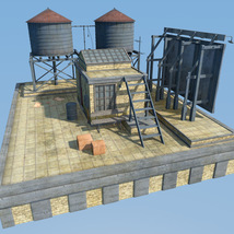 Industrial Roof Construction for DS image 2