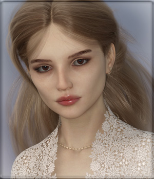 VYK Margot for G8F 3D Figure Assets vyktohria