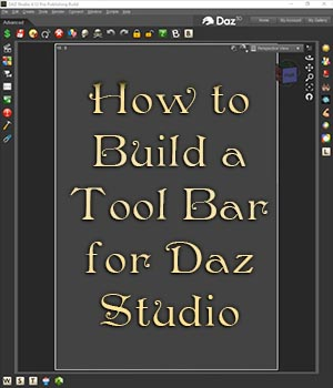 How To Build a Toolbar Tutorial For DS Tutorials : Learn 3D DreamlandModels