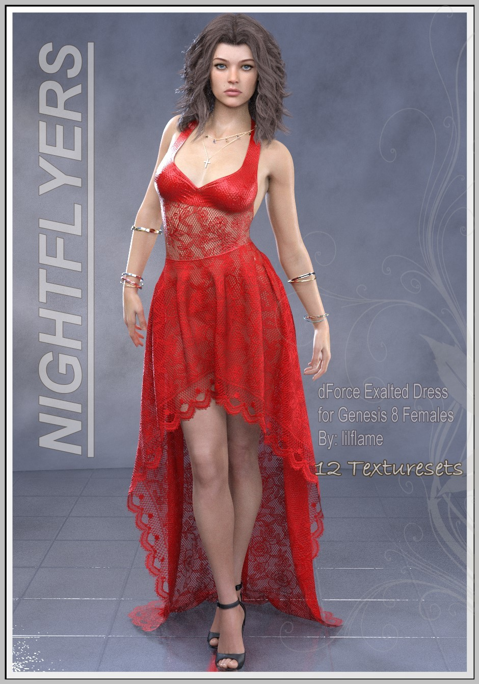 Nightflyers - Exalted Dress by LUNA3D