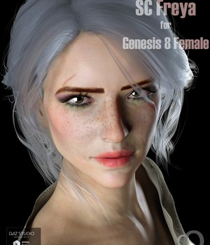 SC Freya for Genesis 8 Female 3D Figure Assets secondcircle