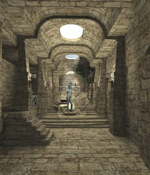 MS20 The Crypt Product Obj and fbx 3D Models London224