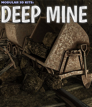 Modular 3D Kits: Deep Mine 3D Models ShaaraMuse3D
