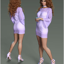 Stylish For dForce Lily Holiday Outfit image 1