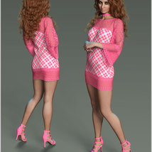 Stylish For dForce Lily Holiday Outfit image 3