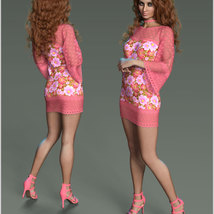 Stylish For dForce Lily Holiday Outfit image 4