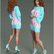 Stylish For dForce Lily Holiday Outfit image 5