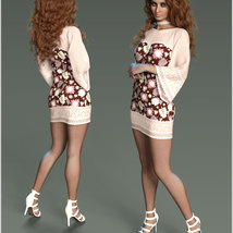 Stylish For dForce Lily Holiday Outfit image 7