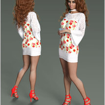Stylish For dForce Lily Holiday Outfit image 8