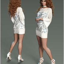 Stylish For dForce Lily Holiday Outfit image 9