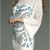 Stylish For dForce Lily Holiday Outfit image 10