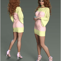 Stylish For dForce Lily Holiday Outfit image 11