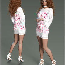 Stylish For dForce Lily Holiday Outfit image 12