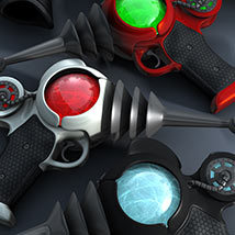 Pulp SciFi Pistol II for Poser and DS image 1