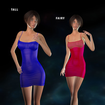 Form-Fitting Dress for La Femme image 1