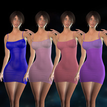Form-Fitting Dress for La Femme image 5