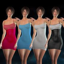 Form-Fitting Dress for La Femme image 6