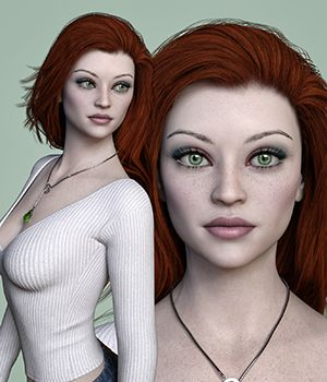 MbM Lily for Genesis 3 and 8 Female 3D Figure Assets Heatherlly