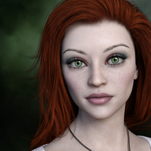 MbM Lily for Genesis 3 and 8 Female image 1