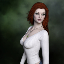 MbM Lily for Genesis 3 and 8 Female image 2