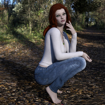 MbM Lily for Genesis 3 and 8 Female image 7