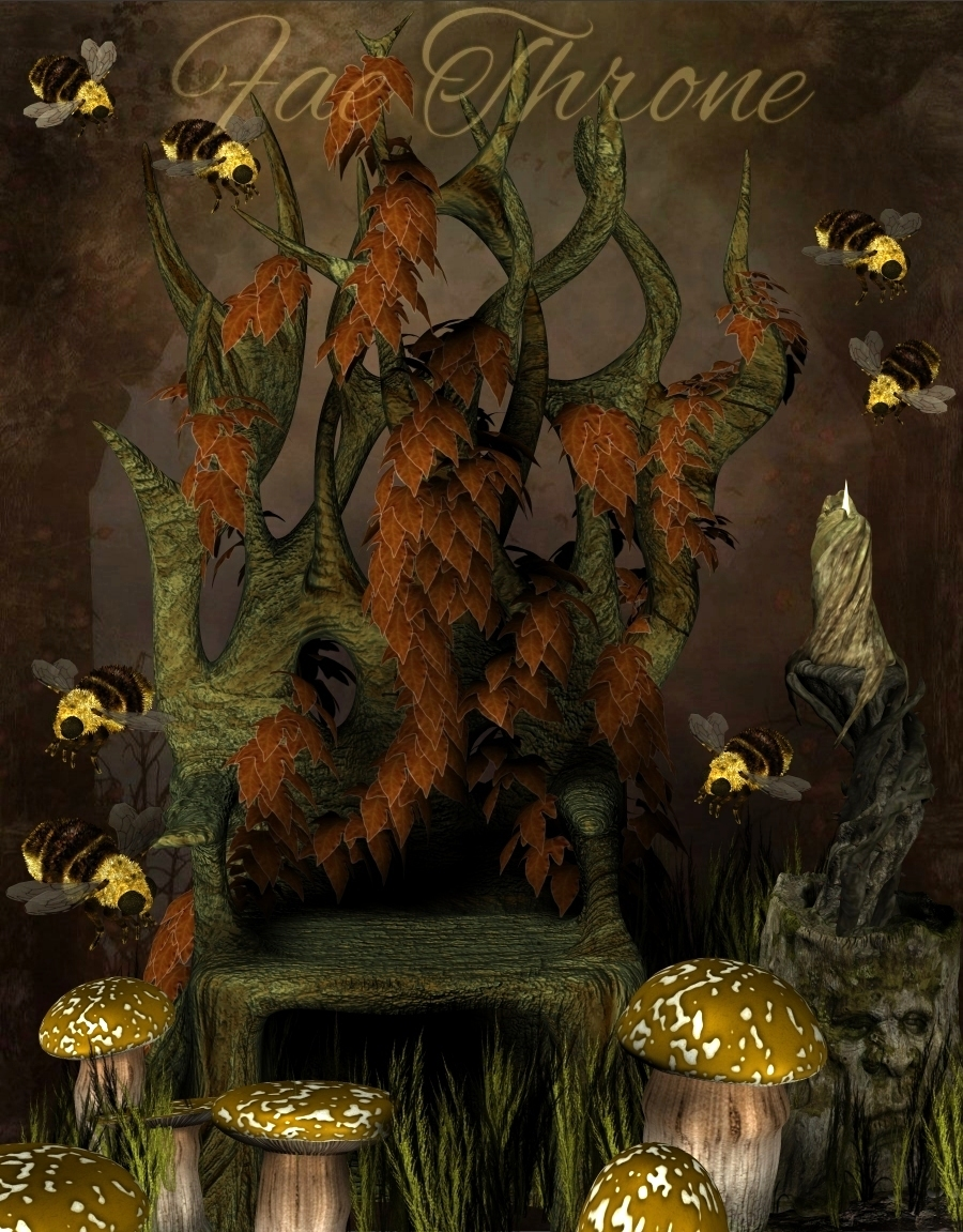 Fae Throne by MortemVetus