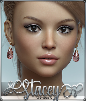SASE Stacey for Genesis 8 3D Figure Assets Sabby