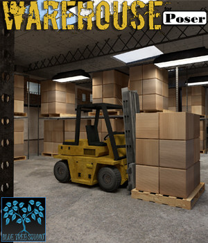 Warehouse for Poser 3D Models BlueTreeStudio