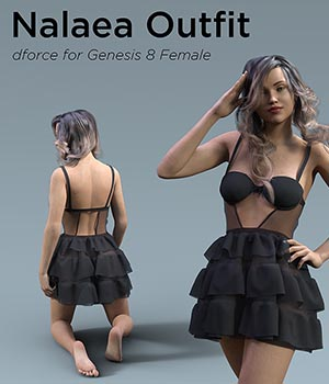 Nalaea Outfit for Genesis 8 Female