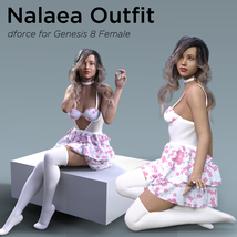 Nalaea Outfit for Genesis 8 Female image 2