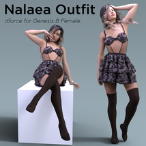 Nalaea Outfit for Genesis 8 Female image 4