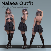 Nalaea Outfit for Genesis 8 Female image 5