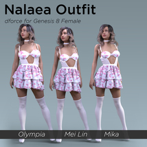 Nalaea Outfit for Genesis 8 Female image 7